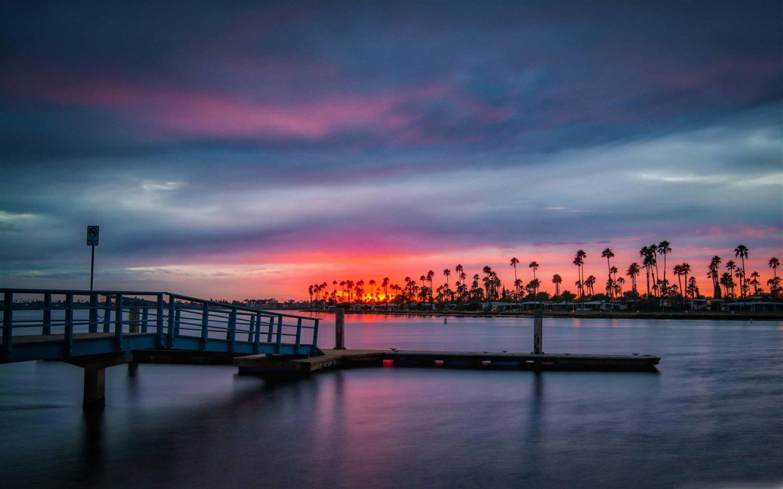 California Sunset Mac Wallpaper Download