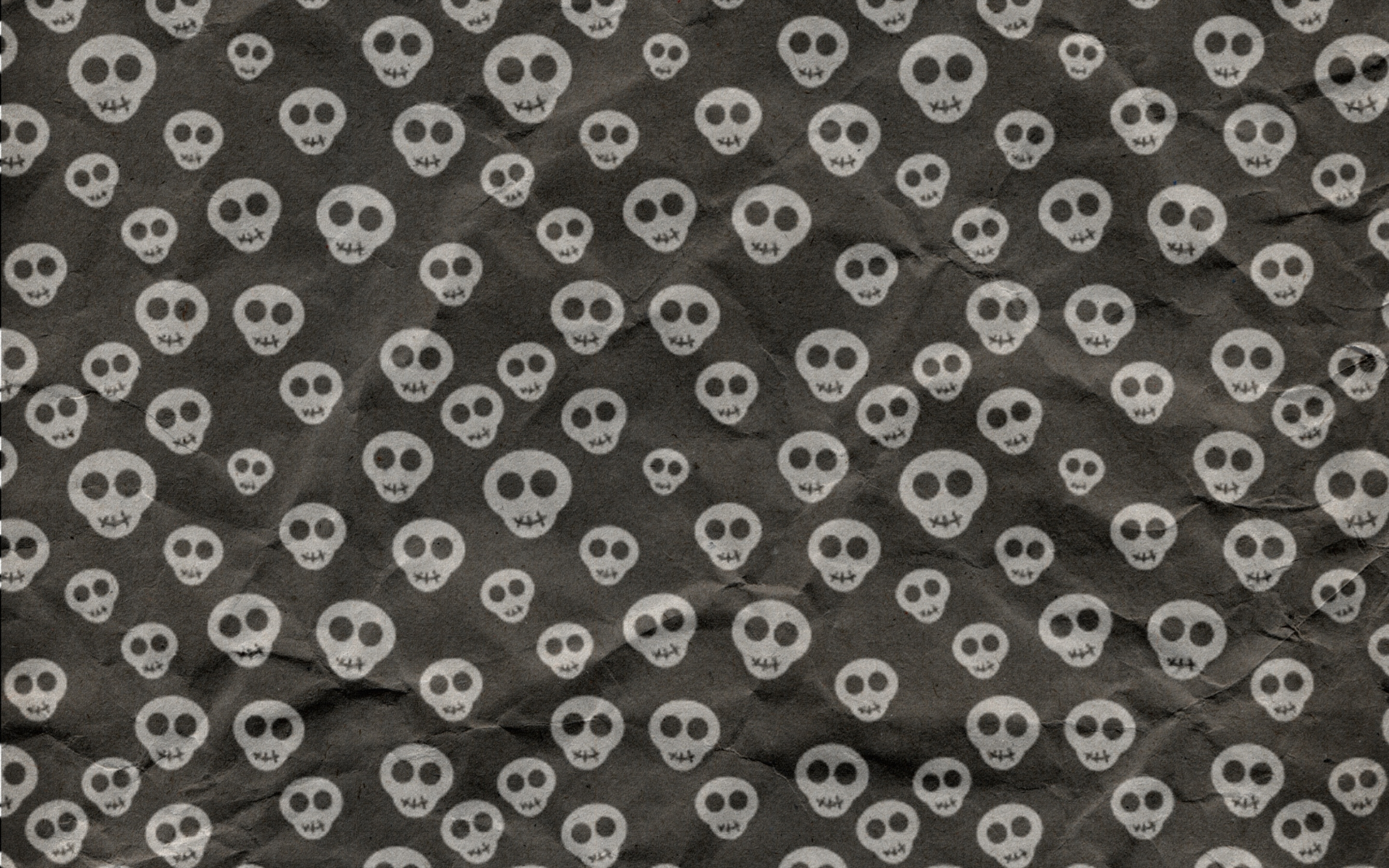 cute skulls wrapping paper mac wallpaper download | free mac
