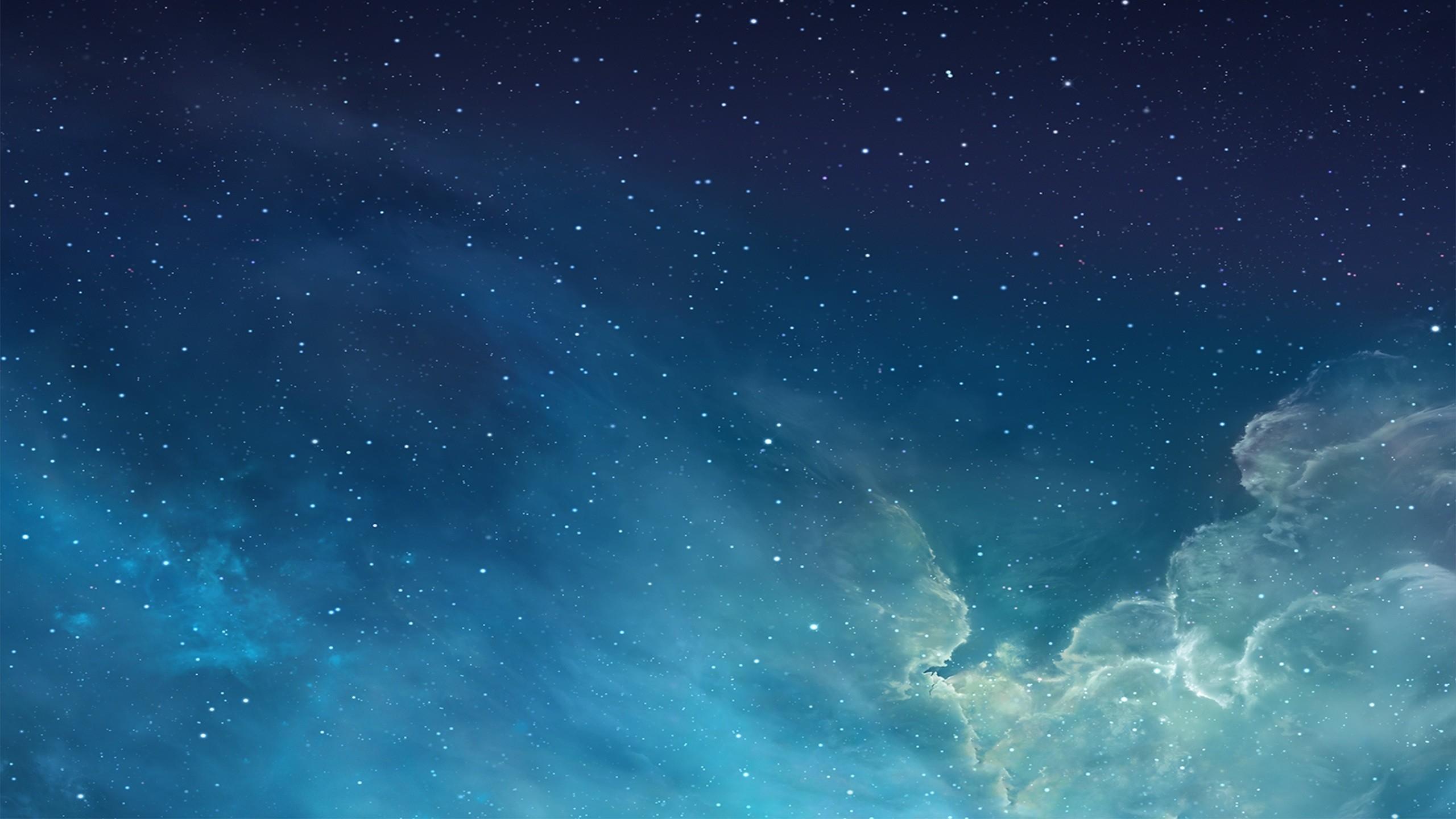 Blue Night Sky Mac Wallpaper Download