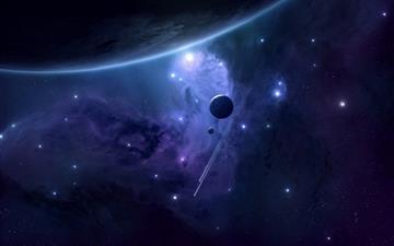 Planets Mac wallpaper