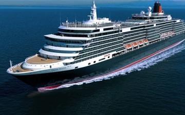 Queen Victoria Cruise Ship Mac wallpaper