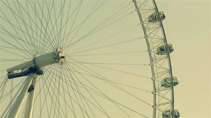 London Wheel Mac Wallpaper