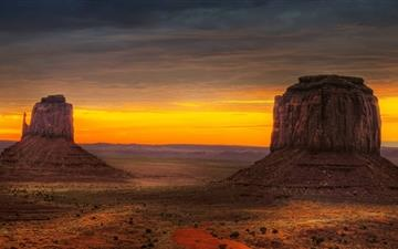 Arizona Monument Valley Mac wallpaper