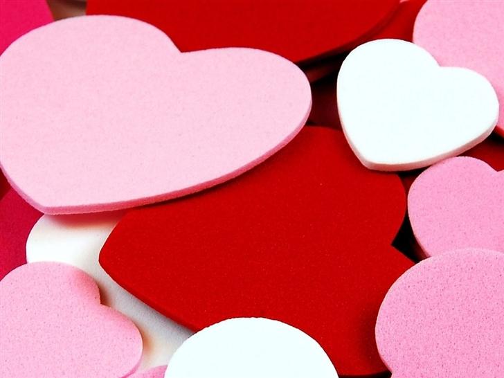 Tons Of Hearts Mac Wallpaper