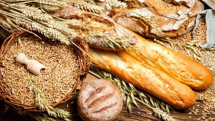Bread And Wheat Food Mac Wallpaper