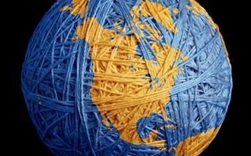 Land Threads Ball Planet Mac wallpaper
