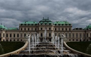 Belvedere Palace Mac wallpaper