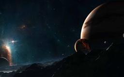 Distant Stars Mac wallpaper