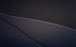 Metallic Curves Mac wallpaper