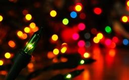 Colorful Lights bokeh Mac wallpaper