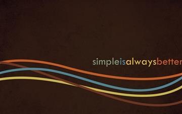 Simple Mac wallpaper