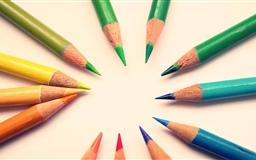 Colour Pencils Mac wallpaper