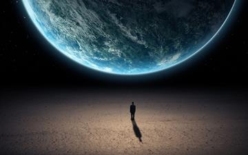 Alone in the universe Mac wallpaper
