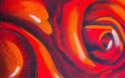 Rose Graffiti Mac wallpaper