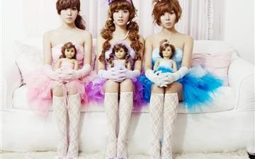 Orange Caramel Mac wallpaper