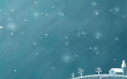 Snow Winter Mac wallpaper