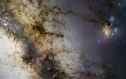 Milky Way Starscape Mac wallpaper