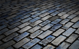 Dark floor Brick