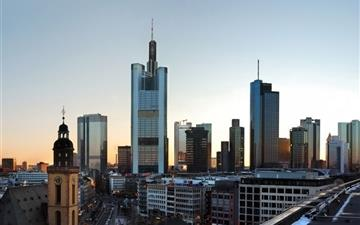 Frankfurt Skyscrapers Mac wallpaper