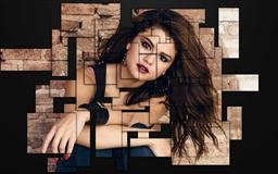 Selena Gomez Abstract Mac wallpaper