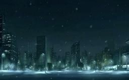 Winter Snow Figure Mac wallpaper