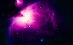 Purple Orion Nebula Mac wallpaper