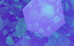 Blue And Futuristic Mac wallpaper