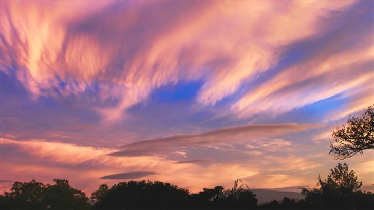 Orange Sky Mac Wallpaper