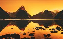 Morning Stillness Mac wallpaper