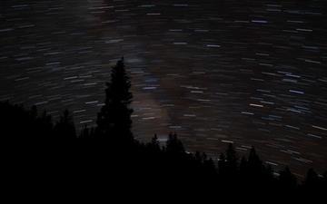 Starry Night Mac wallpaper