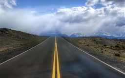 Road In Argentina Mac wallpaper