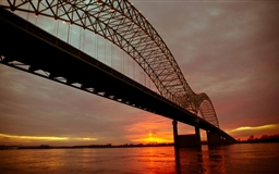 Up And Over The Mighty Mississippi Mac wallpaper