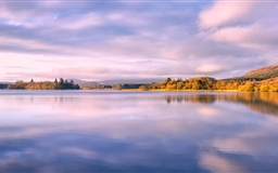 Lake Of Menteith Autumn Mac wallpaper