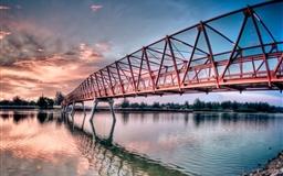 Metal Bridge Mac wallpaper