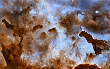 Brown Nebula Mac wallpaper