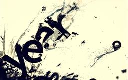 Beige Letters Ink Mac wallpaper