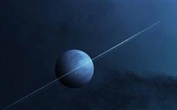 Planet Ring Mac wallpaper