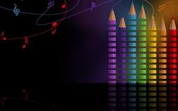 Rainbow Pencils Mac wallpaper
