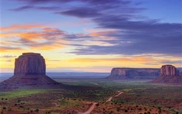 Utah Monument valley road Mac wallpaper