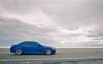 Blue Car Mac wallpaper