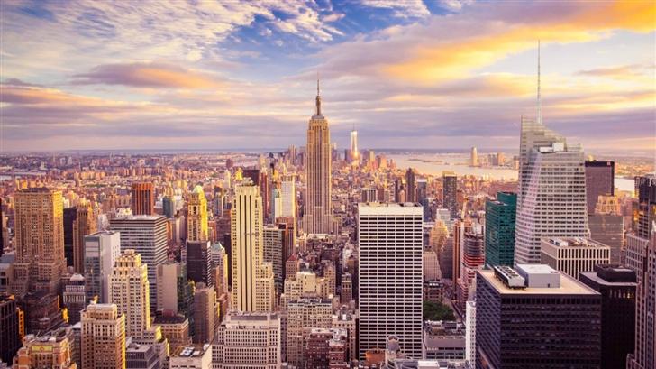 New York City Building Mac Wallpaper