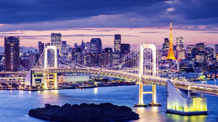 Rainbow Bridge  Mac Wallpaper