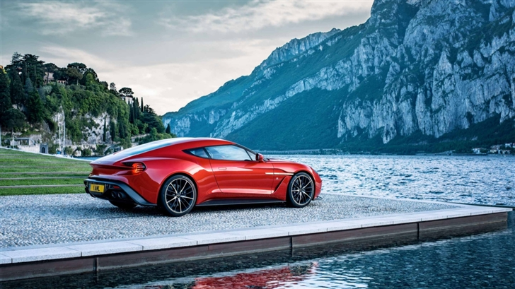 Red Aston Martin Mac Wallpaper