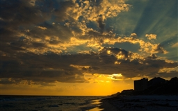 Sunset At Seagrove Mac wallpaper