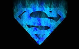 Superman-logo Mac wallpaper