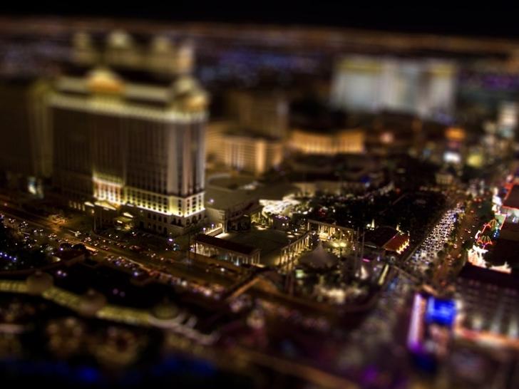 Las Vegas By Night Mac Wallpaper