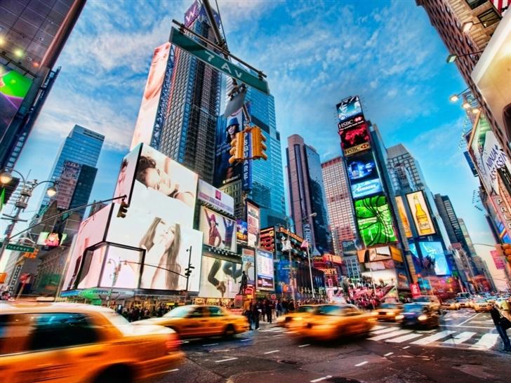 Times Square New York Mac Wallpaper