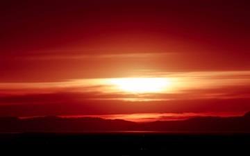 Red Sunet Mac wallpaper