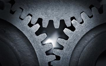 Gear Mechanism Mac wallpaper