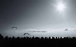 The Paragliding Mac wallpaper